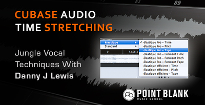 Pointblank jungle vocal time stretching tutorial