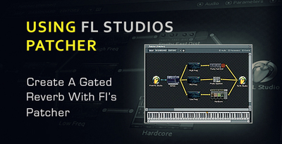 Gated reverb with patcher in flstudio