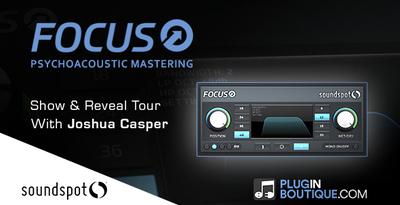 Pluginboutique soundspot focus overview