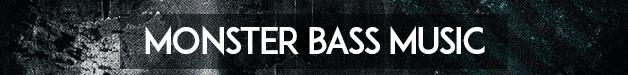 Monster bass music 628x75