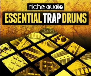 Niche essential trap drums 300 x 250
