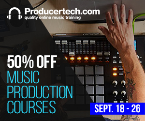300x250 producertech.com music production courses sale