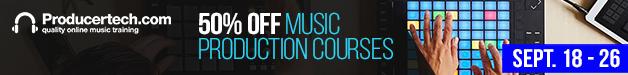 628x75 producertech.com music production courses sale