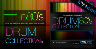 The 80s drum collection   multipack