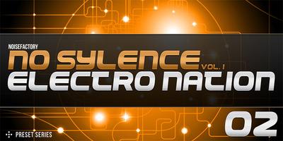 Cover noisefactory no sylence vol.1 electro nation 1000x500