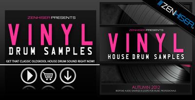 Vinyl house drum samples