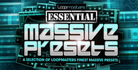 Loopmasters essential massive presets 1000 x 512