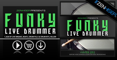 The Funky Live Drummer