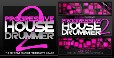 Progressive house drummer 2