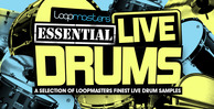 Loopmasters essential live drums 1000 x 512