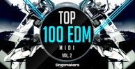 Top 100 edm midi vol.2 1000x512