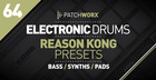 Electronic Drums Reason Kong Presets