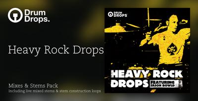Heavy rock drops mixes stems