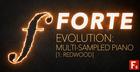 F9 Forte Evolution: Redwood Club Piano