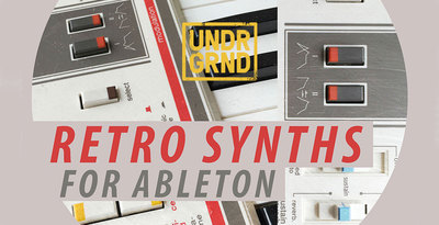 Retro synths for ableton 1000x512