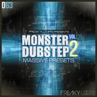 Monster dubstep vol 2 1000x1000