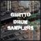 Ghettodrumsamplers 1000x1000