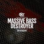 Massive bass destroyer artwork